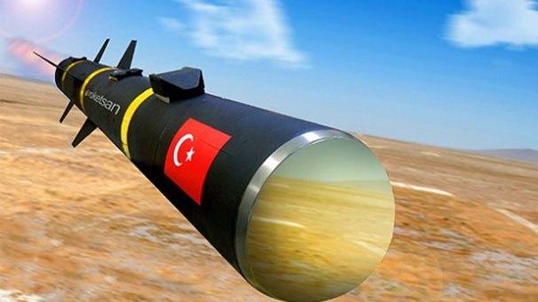 Yerli yapım insansız hava aracına milli yapım lazer güdümlü füze! (Bozok Projesi)