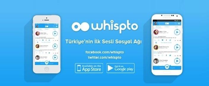 Türkiye'nin ilk sesli sosyal ağı: Whispto!