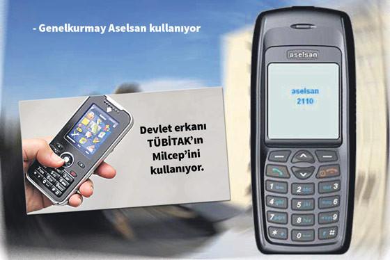 Aselsan'dan kriptolu yerli telefon!