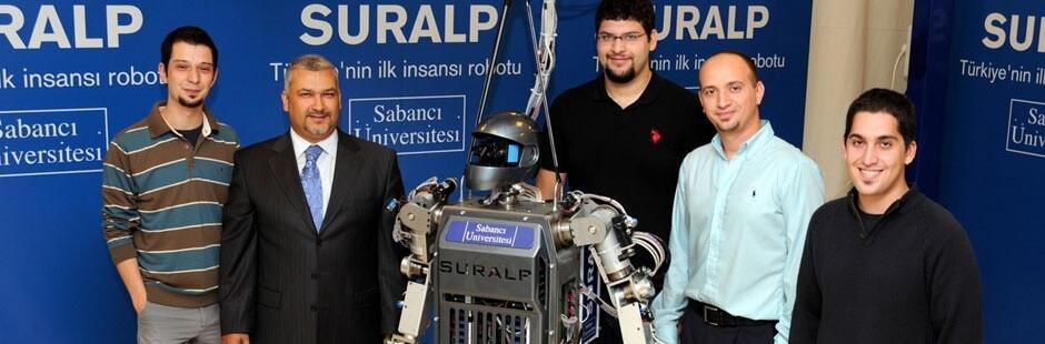 Yerli robot yaptılar şimdilik konuşamıyor ama oda yakındır (: