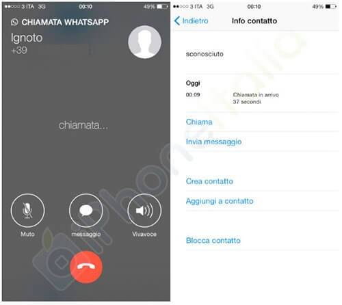 Whatsapp voip voice