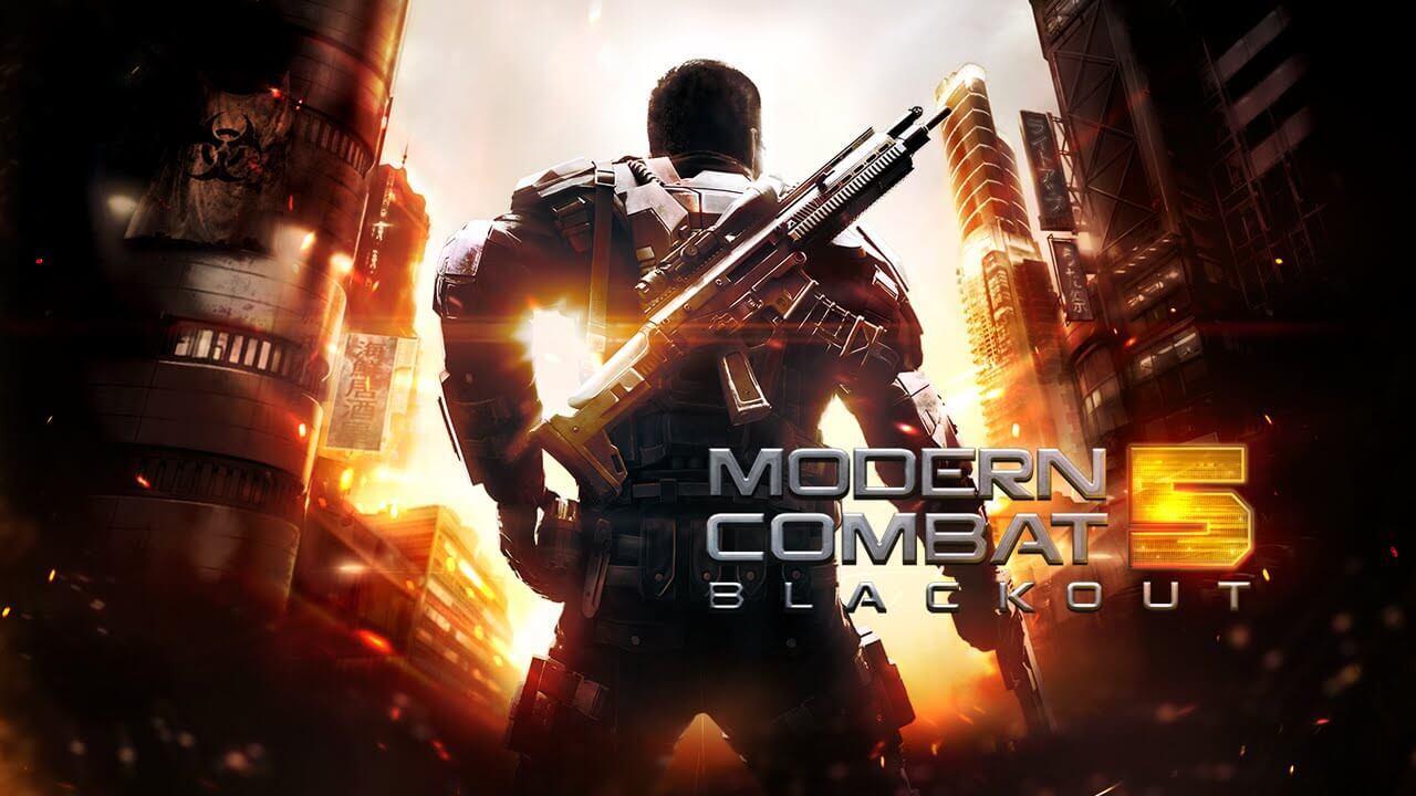 Modern Combat 5: Blackout artık ücretsiz! (Windows'lular sevinmesin)
