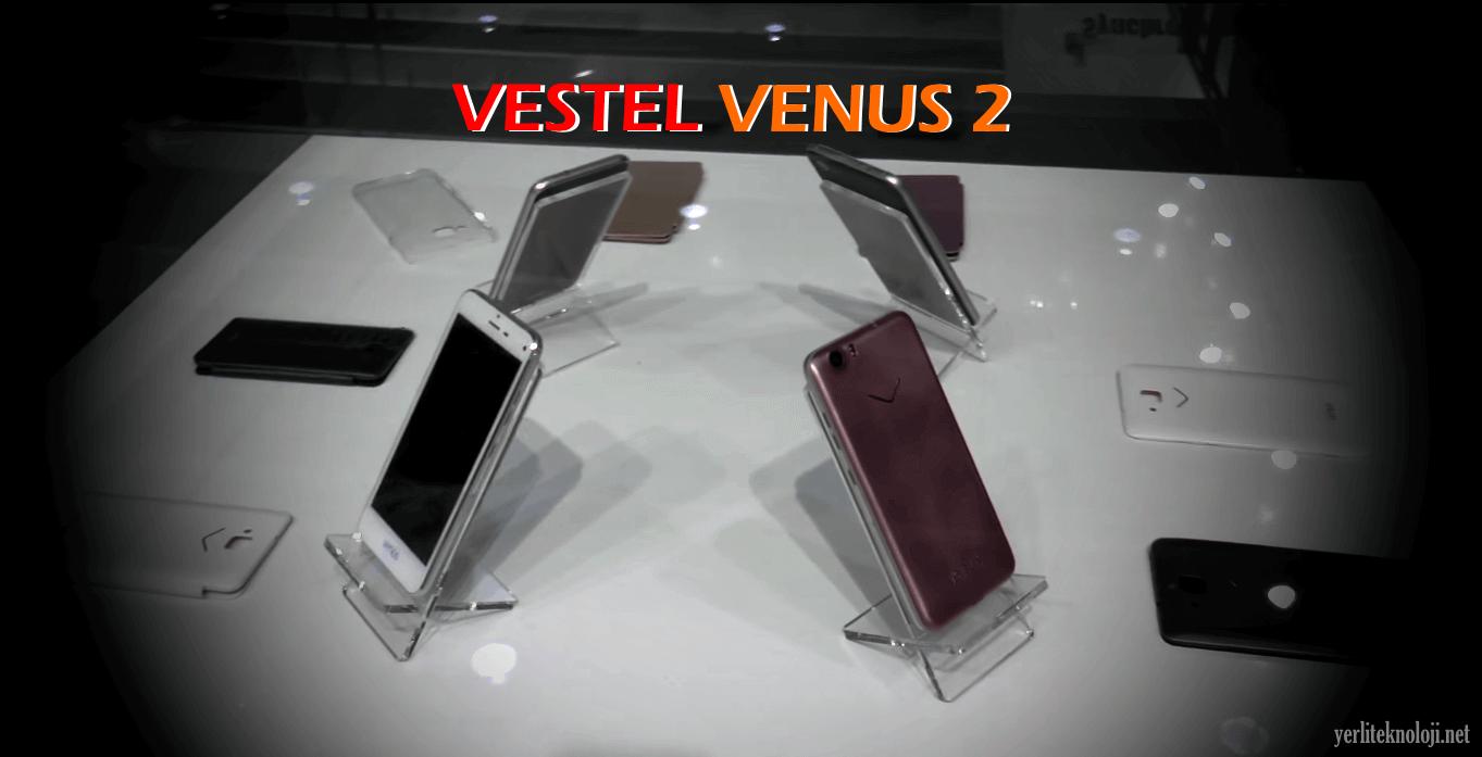 İşte Vestel Venus 2! Vestel'in yeni yerli telefonu!
