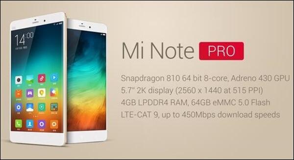 Xiaomi Note Pro çıkış tarihi açıklandı! 1