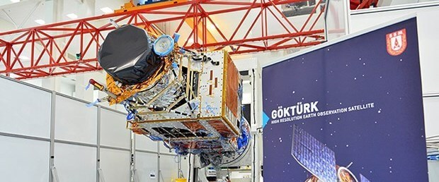 Yüksek çözünürlüklü yer gözlem uydusu GÖKTÜRK-2! 1