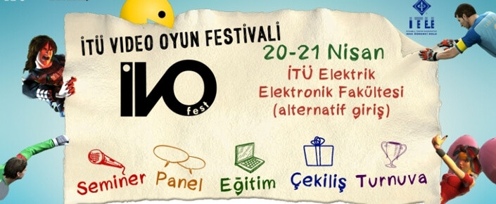 Haydi gençler! İTÜ oyun festivaline! 1