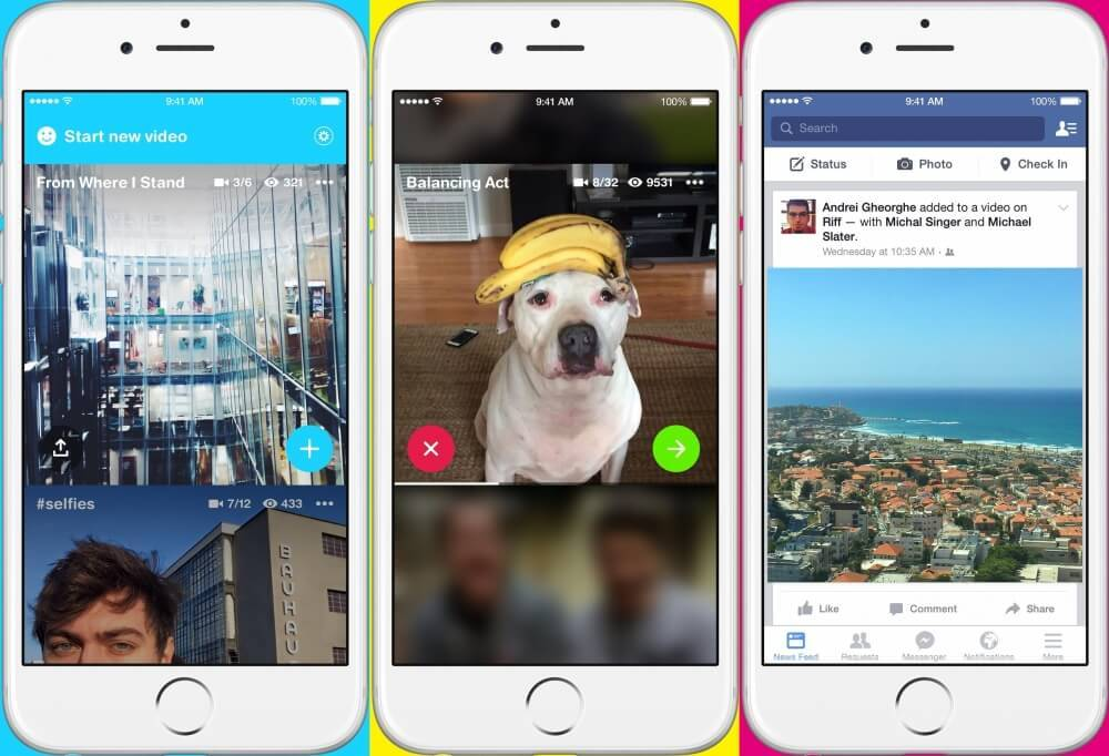 Facebook, Riff adlı yeni video uygulamasını kullanıma sundu! 1