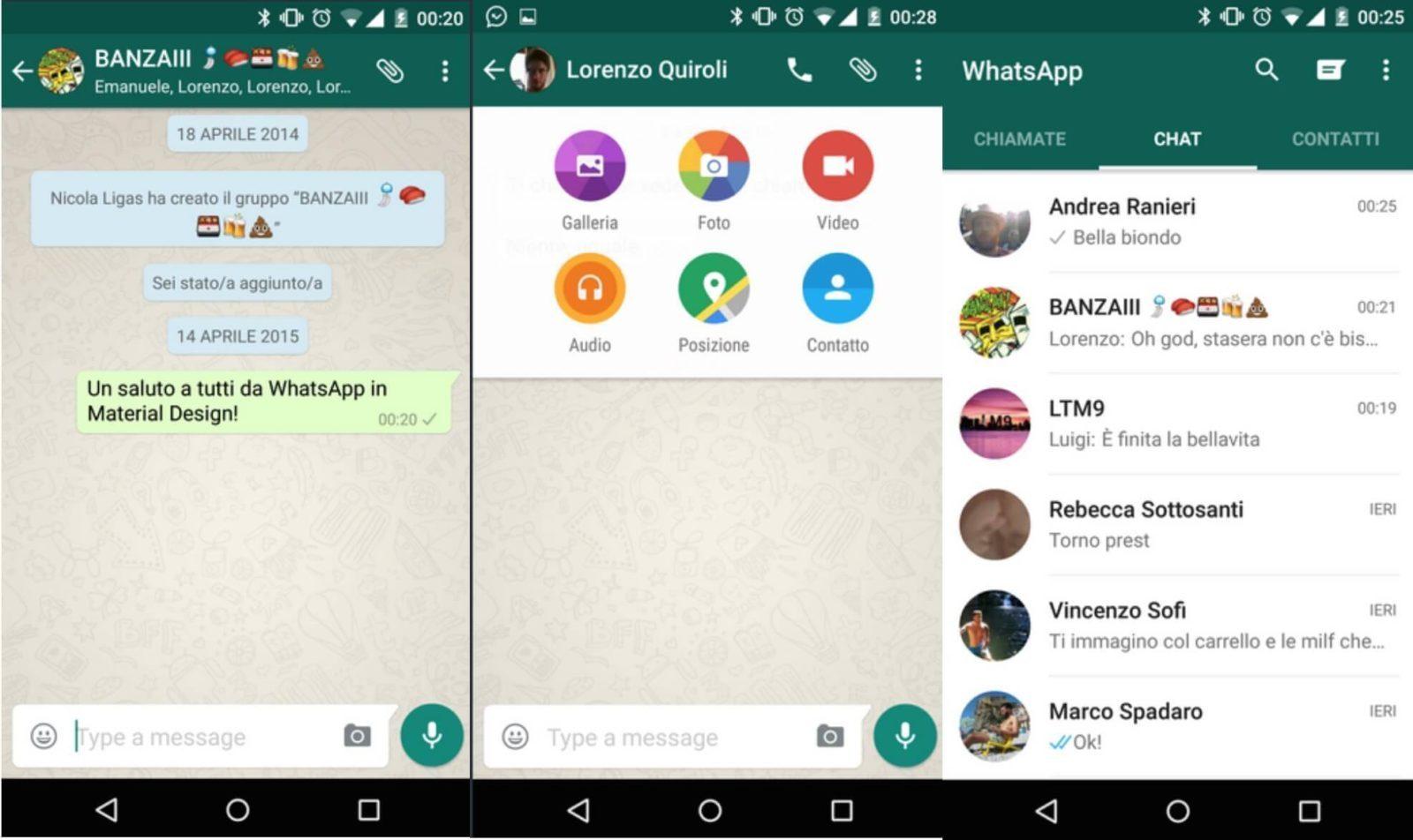 Whatsapp güncellendi ve tasarımı değişti! 1