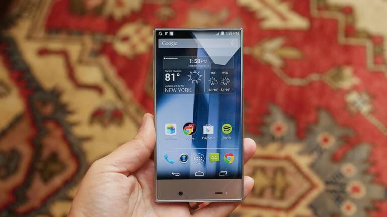Sharp'tan çerçevesiz telefon: Aquos Crystal 2! 1