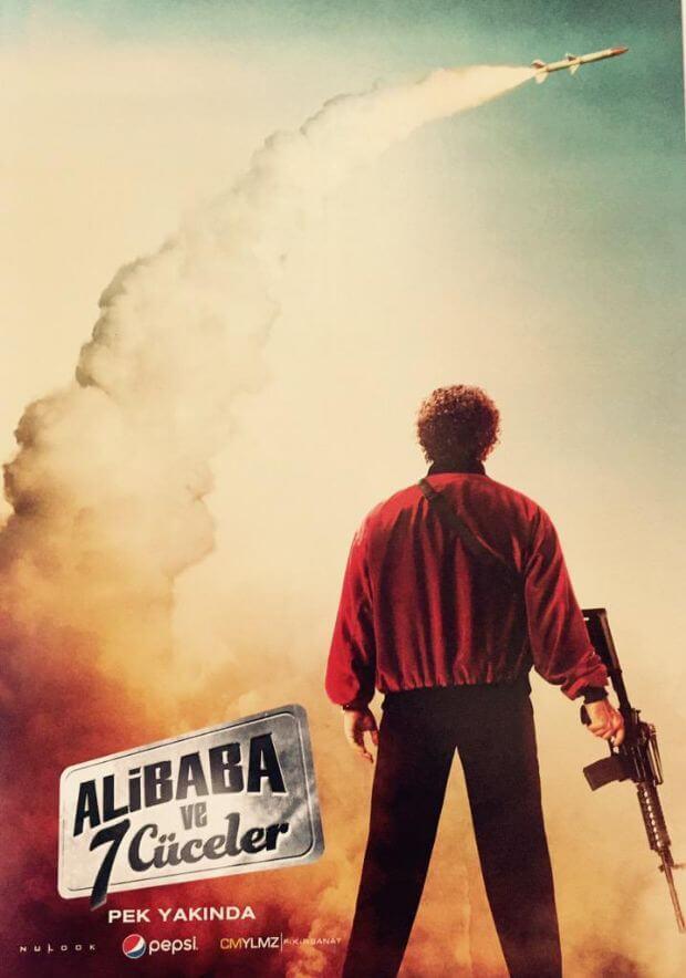 Cem Yılmaz, Ali Baba ve 7 Cüceler filminin ilk görselini paylaştı!