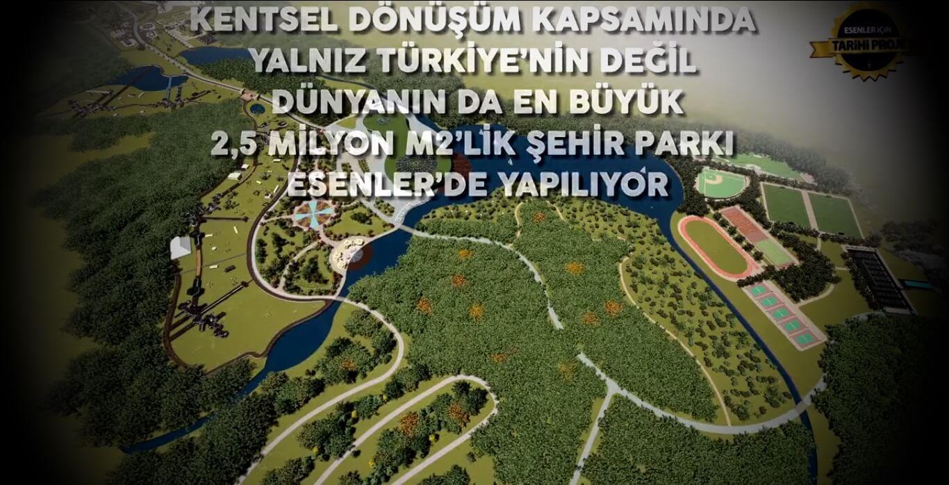 Dünyanın en büyük parklarından biri: Esenler Şehir Parkı! 1