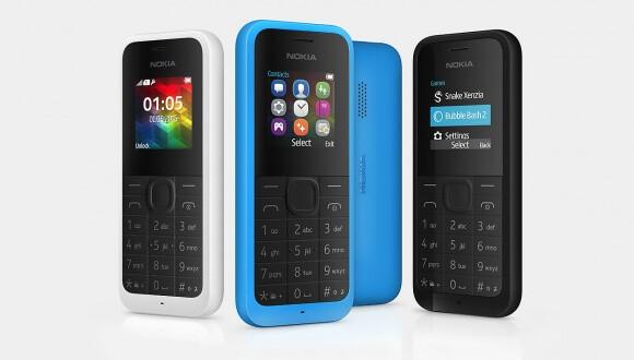 Tam askerlik telefon: Yeni Nokia 105! Sadece 20 Dolar! 1