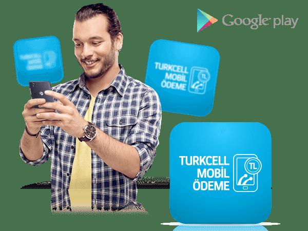 Google Play oyunlarını Turkcell kontörü ile alın!