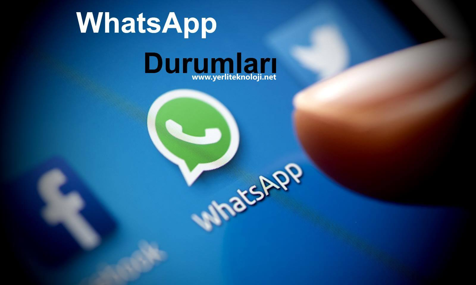 Etkileyici kısa WhatsApp durum sözleri burada! 2020