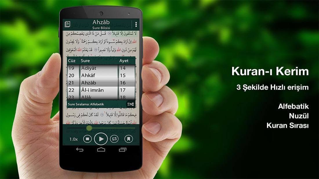 En iyi Kur'an-ı Kerim okuma ve öğrenme uygulamaları! 2020