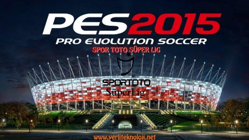 Pes 2015 Spor toto süper lig yaması | Son Transferler, formalar