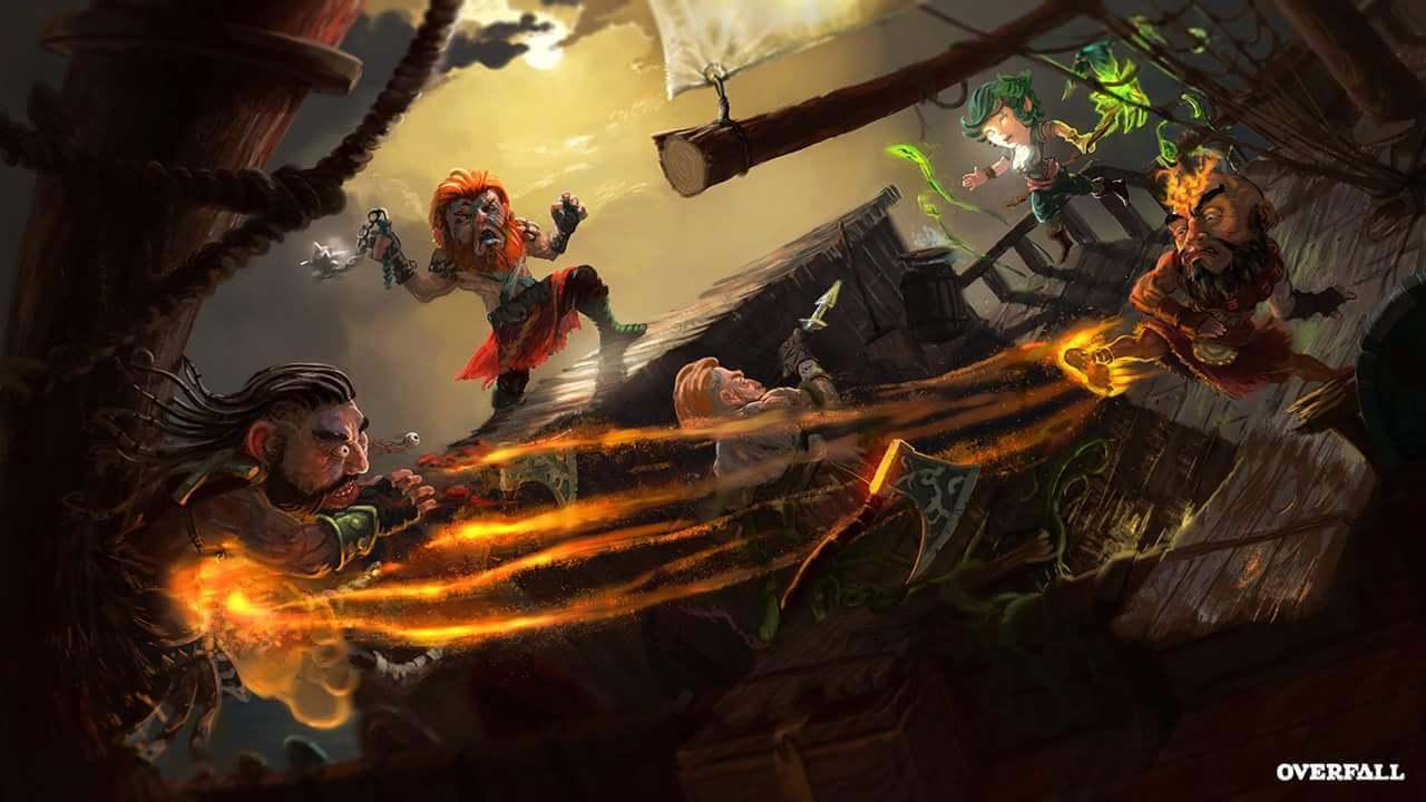 Overfall adlı yerli oyun desteklerinizi bekliyor!
