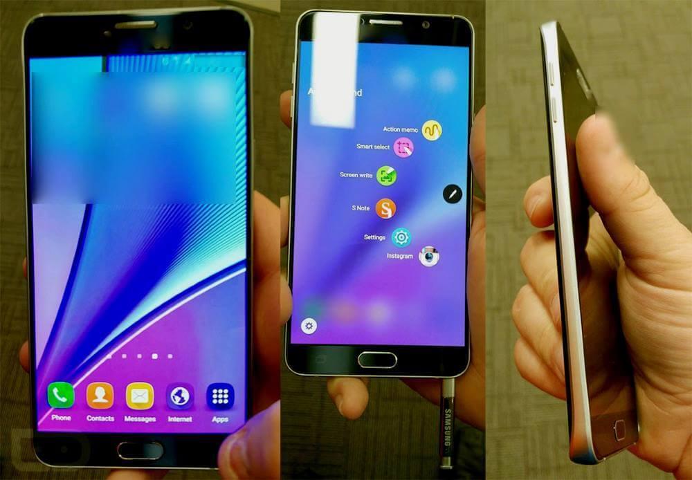 Samsung Galaxy Note 5 özellikleri resmi olarak tanıtıldı! 1