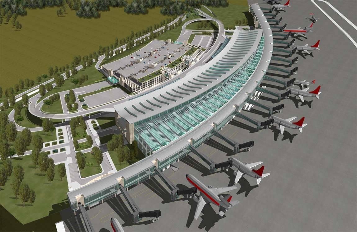 """3.Havalimanının yapımında """"yerli"""" malzemeler kullanılacak! 1"""