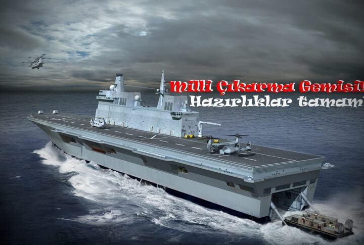 Türkiye, milli havuzlu çıkarma gemisine kavuşuyor! 1