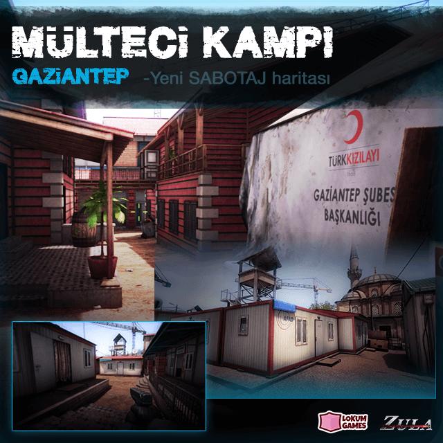 Gaziantep sığınmacı kampında savaş çıktı!