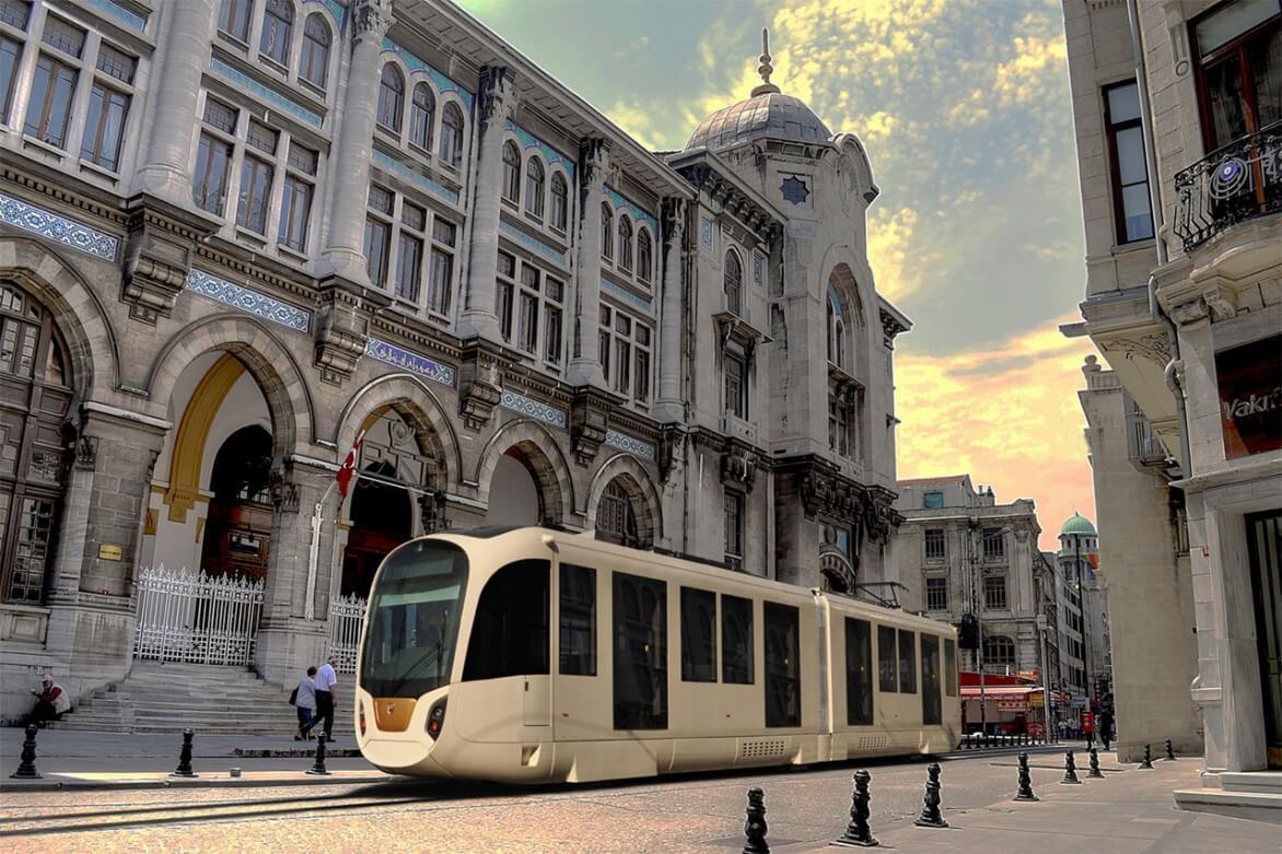 18. Yerli tramvay İstanbul raylarında! 1