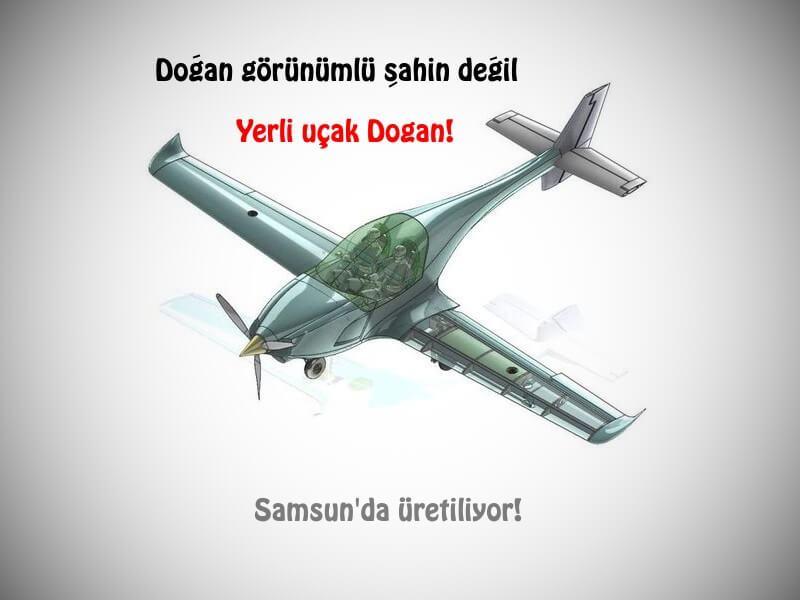 """Yerli ve Milli uçak """"Doğan"""" geliyor!"""