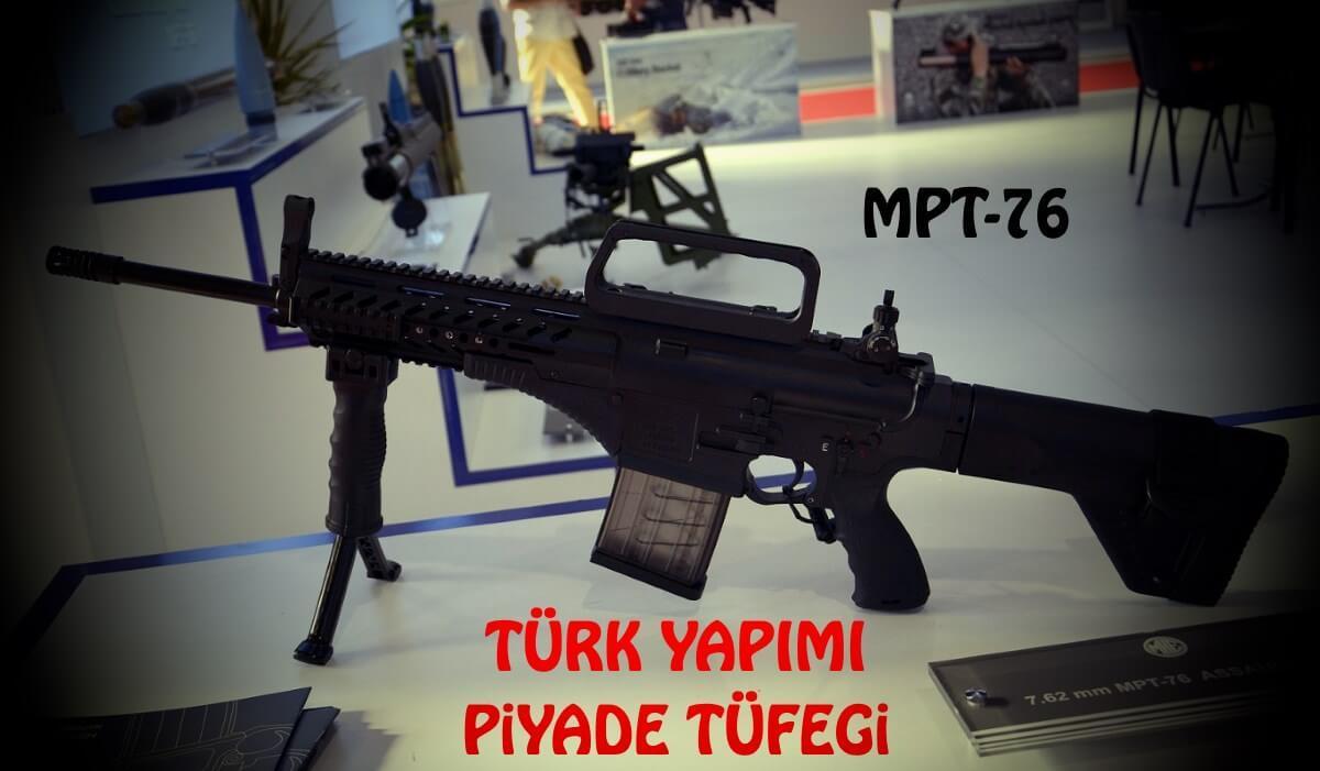 Milli tüfek MPT-76 seri üretim haberi ile sevindirdi!