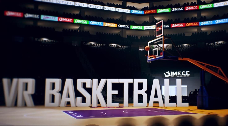 IMECE usulü yerli oyun VR Basketball!