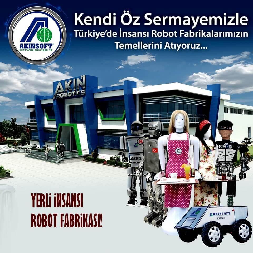 Yerli robot fabrikası kurduk, milli insansı robotlar geliyor! 1