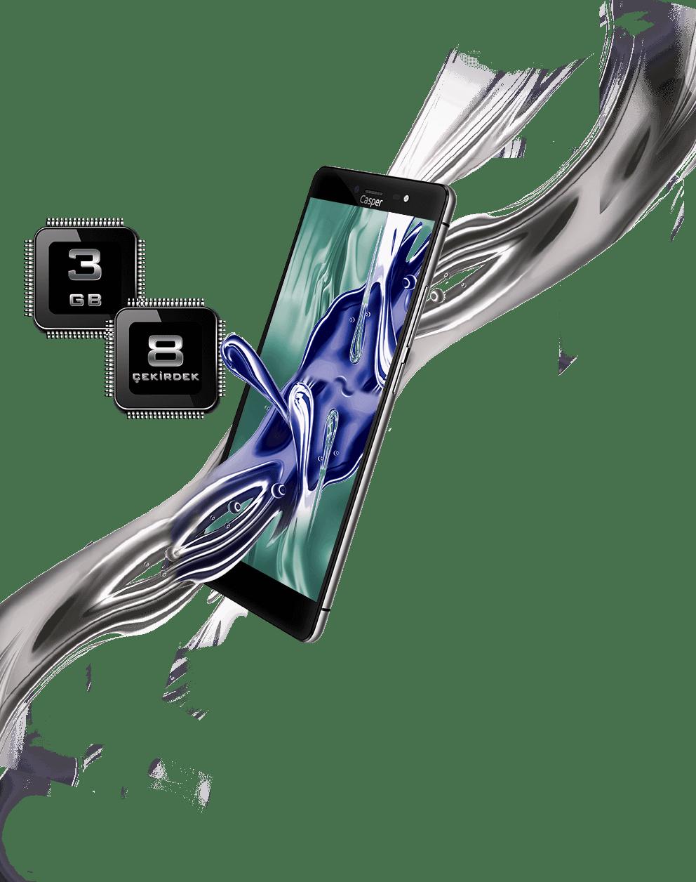 Casper yeni telefonu VIA M1'i tanıttı! İşte fiyatı ve özellikleri