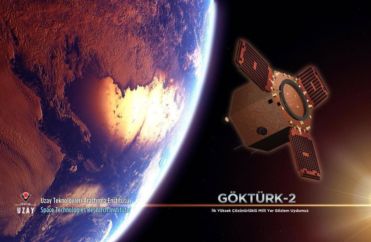 Milli uydumuz GÖKTÜRK-2 tam 4 yıldır uzayda!