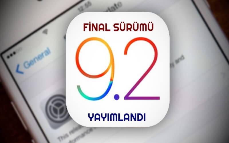 iOS 9.2 final sürümü yayımlandı! Hemen indirin! 1