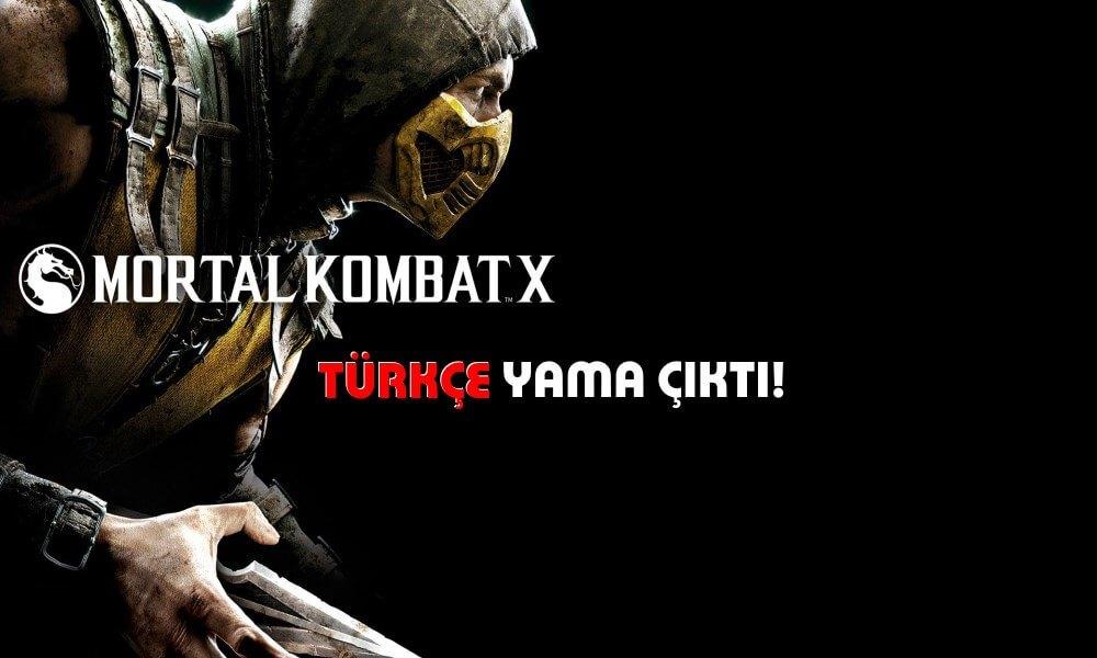 Mortal Kombat X Türkçe yama indirilmeye hazır!