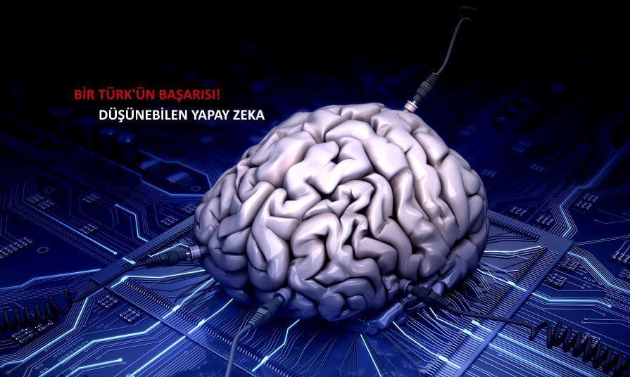 Genç Türk'ten büyük başarı: Düşünebilen yapay zeka!