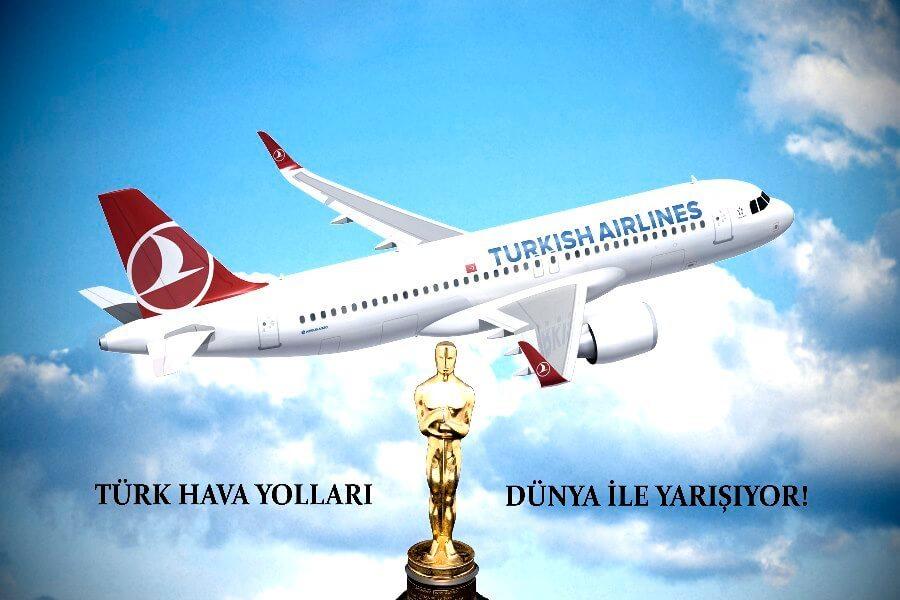 Türk Hava Yolları artık aştı! Oscar töreninde ki yerini aldı! 1