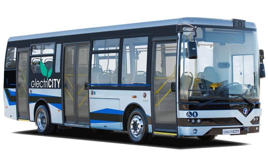 """Türk şirketi """"TEMSA"""" yerli elektrikli otobüsünü tanıttı! 1"""