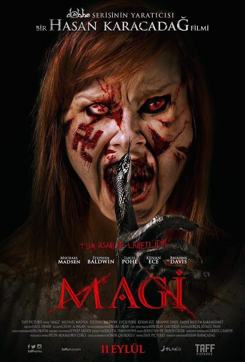 Hollywood'a açılan ilk Türk korku filmi: Magi! sonunda vizyona girdi!