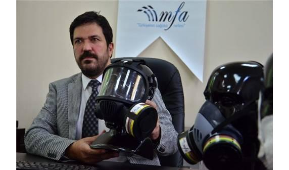Dışa bağımlılıktan her alanda kurtuluyoruz! Yerli gaz maskesi üretiliyor! 1