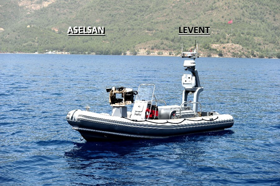 ASELSAN'dan insansız su üstü aracı: LEVENT! 1