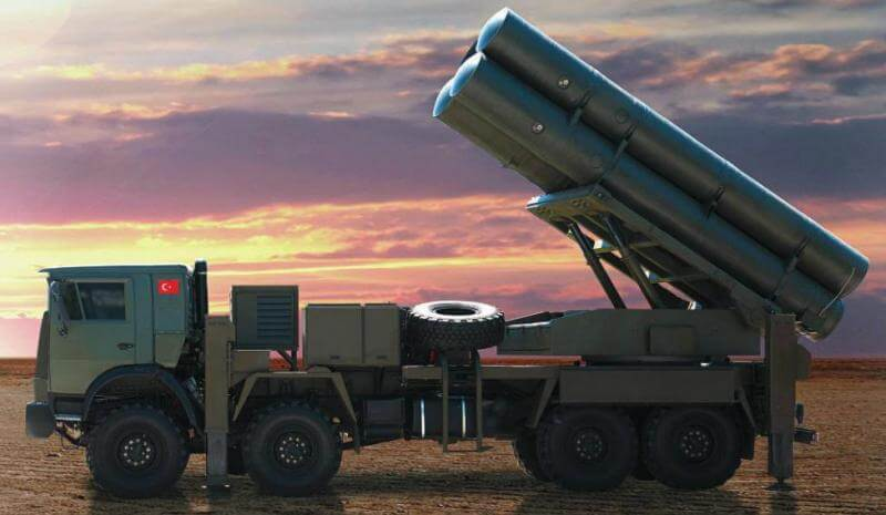 Yerli füze sistemi KASIRGA artık TSK'nın hizmetinde! 1