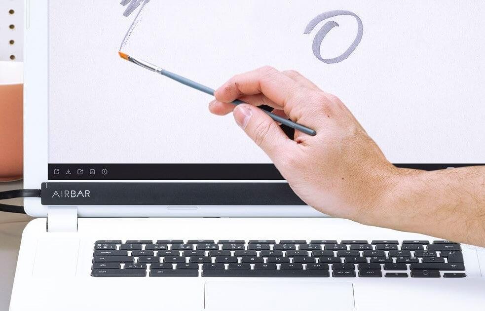 Dizüstü bilgisayarınızın normal ekranını dokunmatik yapmak istermiydiniz? 1