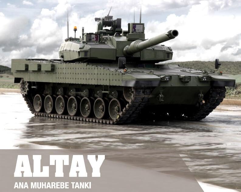Yerli ve milli Altay tankında şok iptal! 1