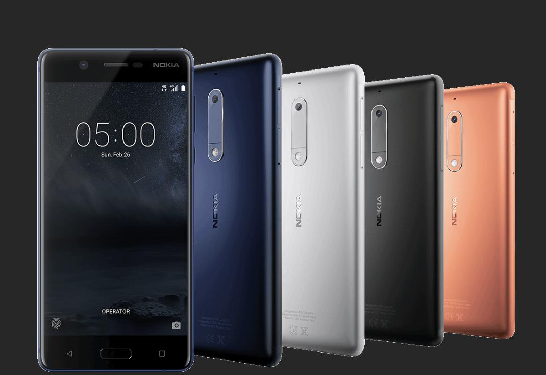 İşte yeni Nokia 5 telefonu ve özellikleri! 1