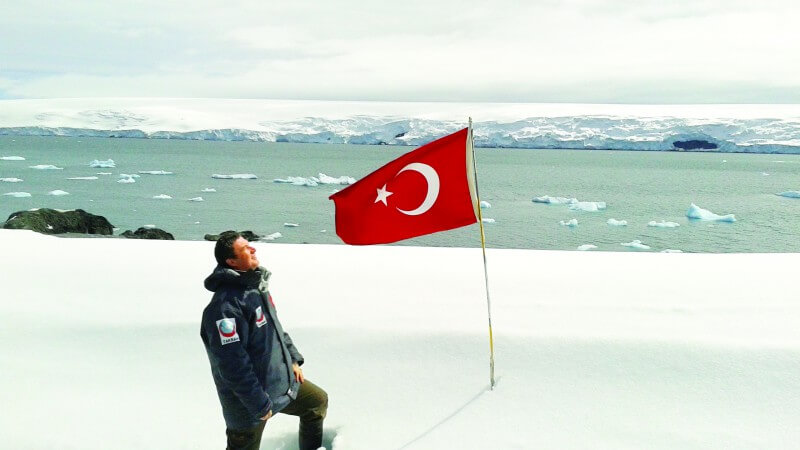 Bilim adamlarımız Antarktikaya üs kuruyor! 1