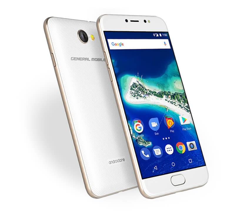 Türk markası General Mobile yeni telefonunu tanıttı: GM 6 Android One!
