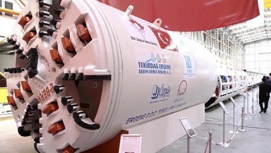 Yerli tünel açma makinesi Anadolu hizmetine başladı! 1