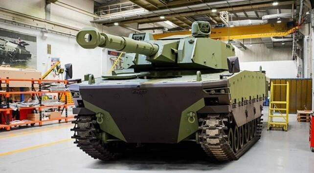 Türk savunma şirketi FNSS'den Türkiye'ye yeni tank: KAPLAN MT! 1