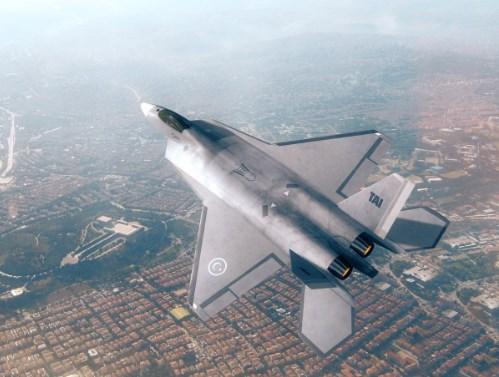 İşte Türkiye'nin yerli savaş uçağının ilk görüntüsü! 1