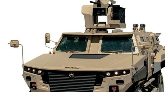 TÜMOSAN'dan yeni yerli askeri araç! 1